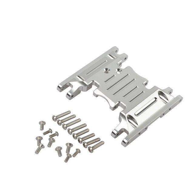 Aluminum Alloy Skid Plates gear box bottom mount for Axial SCX10 II 90037 90046 90047 90058 AX31379
