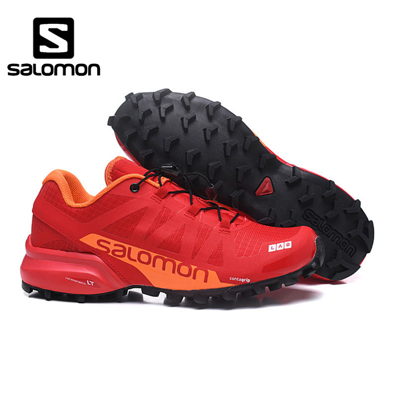 New Design Salomon Speed Cross PRO 2 Outdoor Cross-country Men running shoes Brand Sneakers Male Athletic Sport Shoes Red