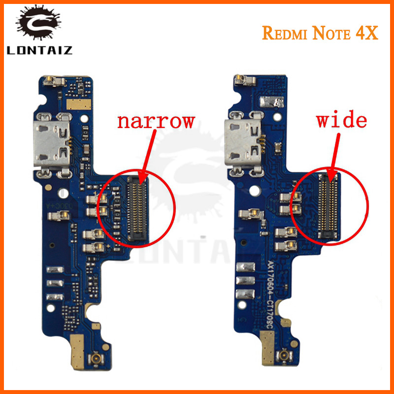 Original Redmi Note 4 USB Port Charger Dock Plug Connector Flex Cable Note4 For 5.5