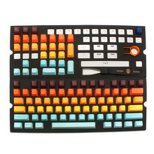104 Keycap Set For Gaming Keyboard With Key Caps Puller Remover Tool Multicolor ABS Mechanical Keyboards