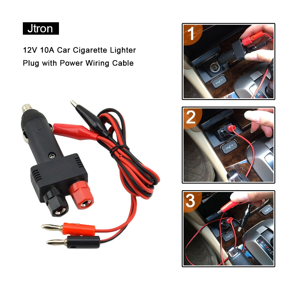 Cigarette Lighter Plug Wiring Amazing Wiring Ideas - 12v cigarette lighter wiring diagram