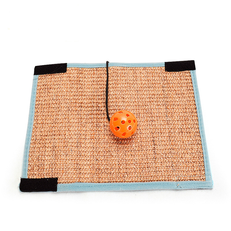 Cat Kitten Scratch Board Pad Sisal Scratcher Mat Claws Care Cat Toy Product Sofa Scratching Post Protect Furniture Protect #6