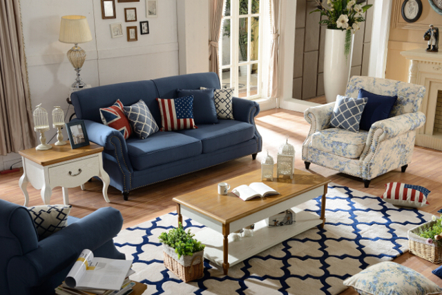 Mobili divano set soggiorno per divani di lusso moderno con tessuto ...