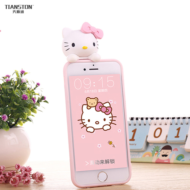coque iphone 7 hello kitty 3d