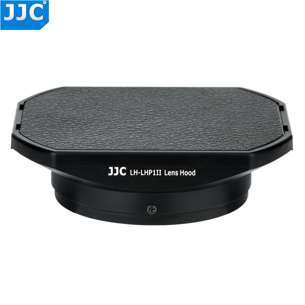 JJC Metal Square Lens Hood with 49mm Filter Screw Thread for Sony DSC RX1 DSC RX1R