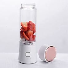 цена на High Quality 480ml USB Mini Blender Glass Bottle Juicer 6 Blades Portable Fruits Mixer Meat Grinder Juice Maker Machine