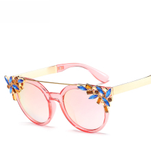Summer Beach Round Sunglasses For Women