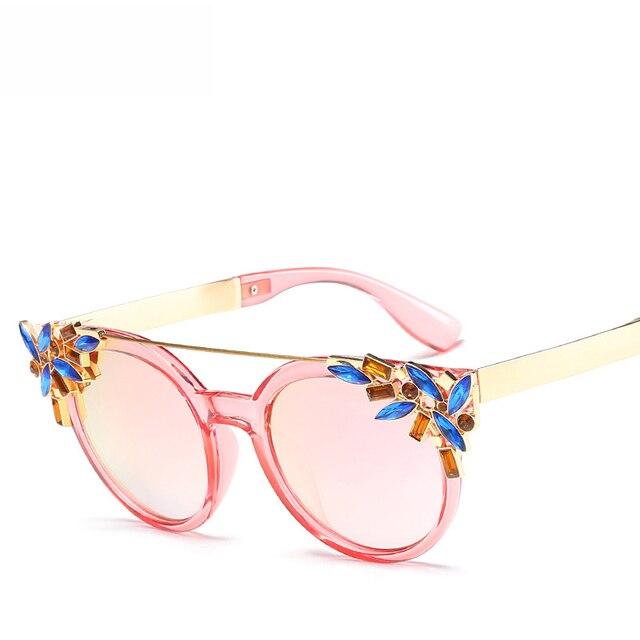 535089663 Gafas de sol redondas de playa de Verano 2017 para mujer nuevas gafas de  sol con