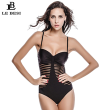 one piece swimwear sexy swimming suit women bandage bodysuit sexy beachwear strap bathing suit plus size swimsuit bathing suit 2016 New Bodysuit Sexy 1 One Piece Swimsuit Backless Swimwear Women Bathing Suit Brazilian Plus Size Beachwear Bandage Monokini