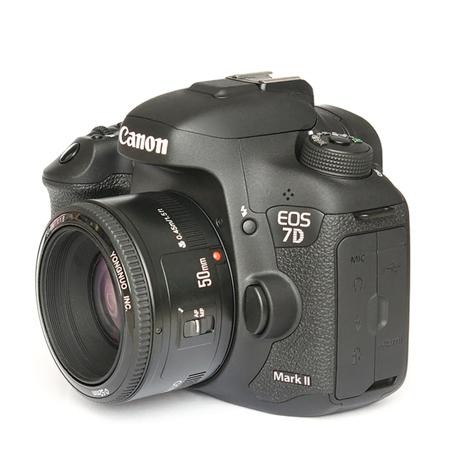 YONGNUO YN50mm F1.8 Lens EF 50mm for Canon Large Aperture Auto Focus Lenses For DSLR Camera 700D 750D 800D 5D Mark II IV 10D 3