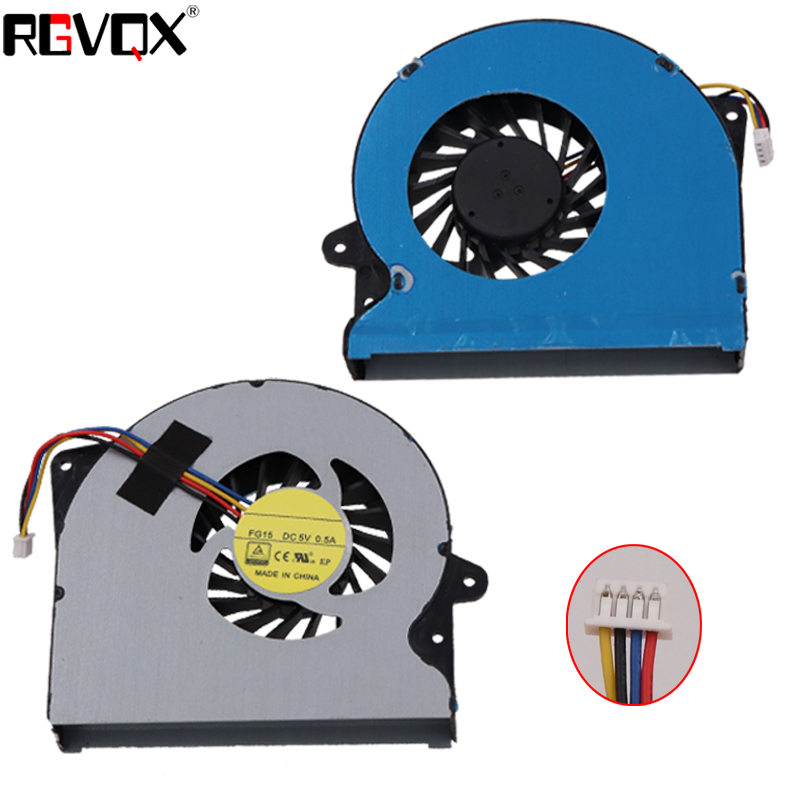Купить с кэшбэком New Original Laptop Cooling Fan For ASUS G751 G751J G751M G751JT G751JY G751JL PN: DFS561405PL0T DFS501105PR0T Cooler Fans