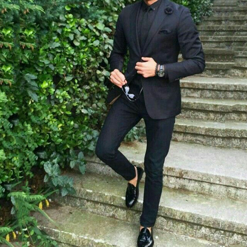 men suits for wedding prom suits groom tuxedo 5 (2)