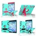 Новый Для ipad 6/ipad air 2 Case Heavy Duty Hybrid прочная Резиновая Жесткий Пластик + Силиконовые Ударопрочный tablet Case Cover для iPad6 # E