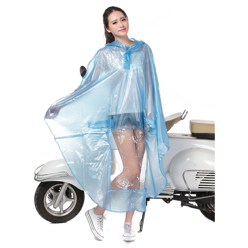 Transparent Men Women Raincoat Poncho Outdoor Raincoat Transparent Raincoats Jacket Women Cycling Raincoat Waterproof QQG306