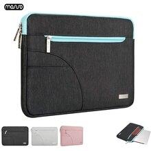 MOSISO Caso Bolsa de Laptop Para Macbook Air Pro Retina 11 12 13 14 15 15.6 polegada Notebook Saco Das Mulheres Dos Homens para Lenovo Xiaomi Air HP Dell