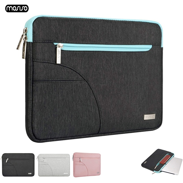 MOSISO Laptop Bag Sleeve 11.6 12 13.3 14 15.6 inch Notebook Sleeve Bag For Macbook Air Pro 13 15 Dell Asus HP Acer Laptop Case