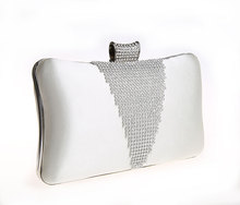 New Style Shiny Rhinestone Clutch Bag Dress Style Women Rhinestone Evening Clutch Bag Rhinestone Party Bag Woman Wallet