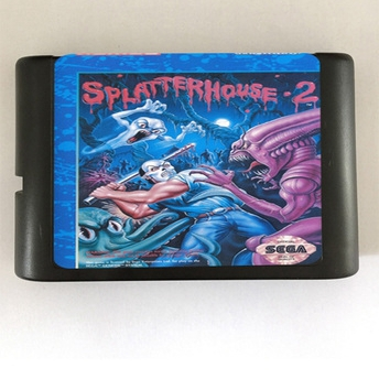 Top quality 16 bit Sega MD game Cartridge for Megadrive Genesis system — Splatterhouse 2