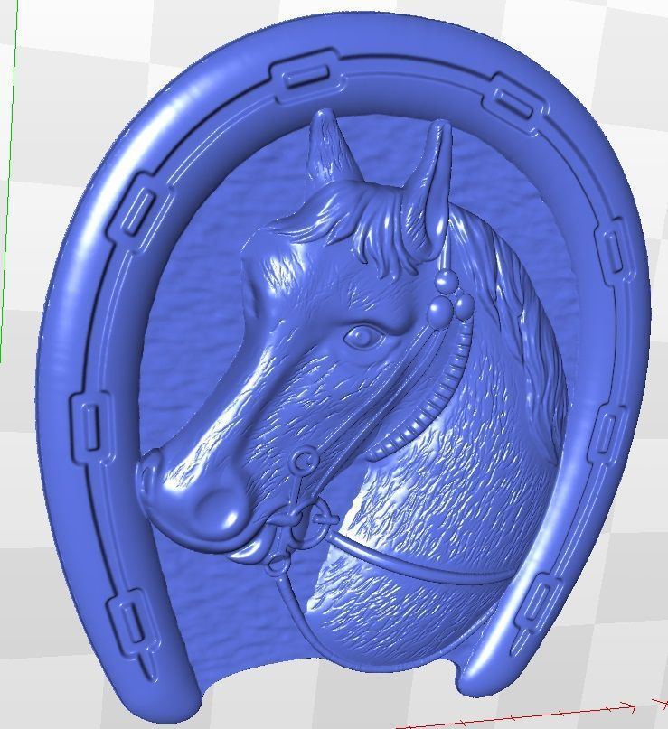 relief for cnc in STL file format artcam model 3d horse_18 model relief format 3d for cnc in stl file rosette 60 3d