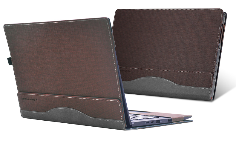 Laborioso Nuovo Staccabile Della Copertura Per Lenovo Thinkpad X1 Yoga 2017 14 Pollici Del Computer Portatile Del Manicotto Del Taccuino Del Sacchetto Tablet Cuoio Dell'unitÀ Di Elaborazione Di Protezione In Molti Stili