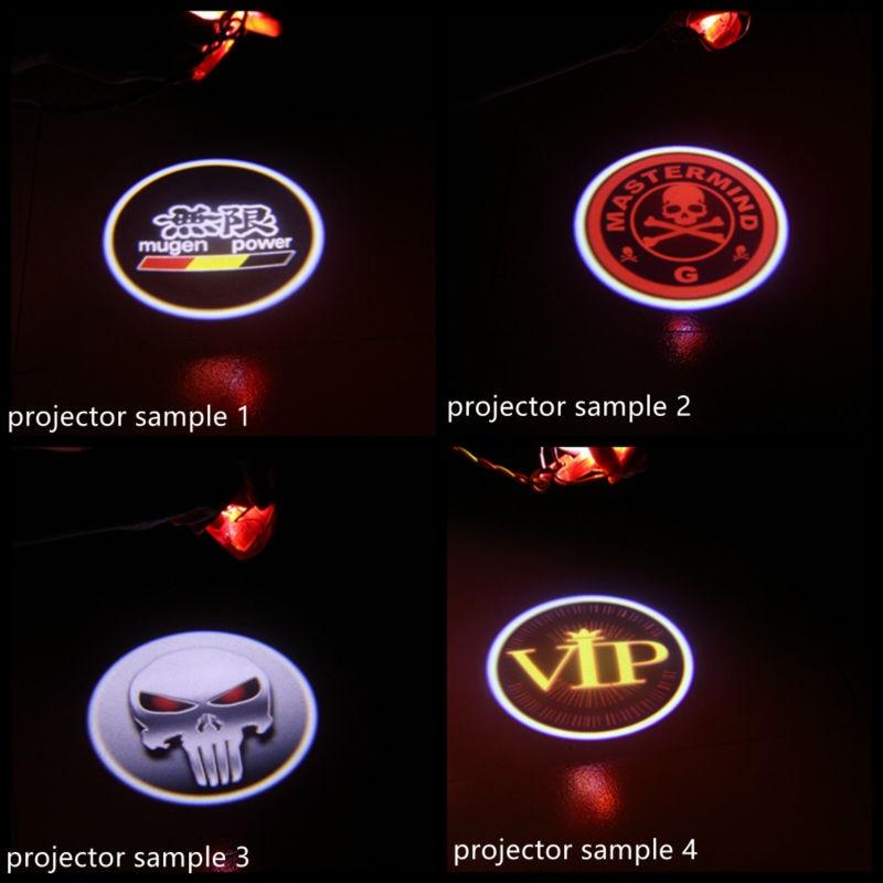 2X LED Avtomobil Qapı Proyektoru BMW E39 X5 E53 Z8 E52 5 seriyalı - Avtomobil işıqları - Fotoqrafiya 6