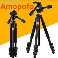 Amopofo DHL Free Shipping New QZSD Q470 slr camera tripod video recorder tripod Q 470 professional mount Tripod + Head Set.