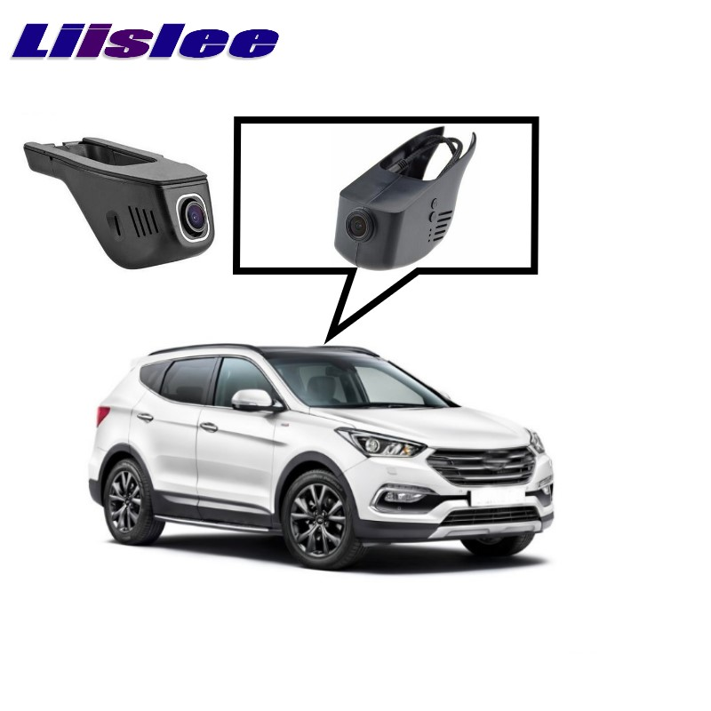 LiisLee Car Black Box WiFi DVR Dash Camera Driving Video Recorder For Hyundai Santa Fe DM NC 2012~2017