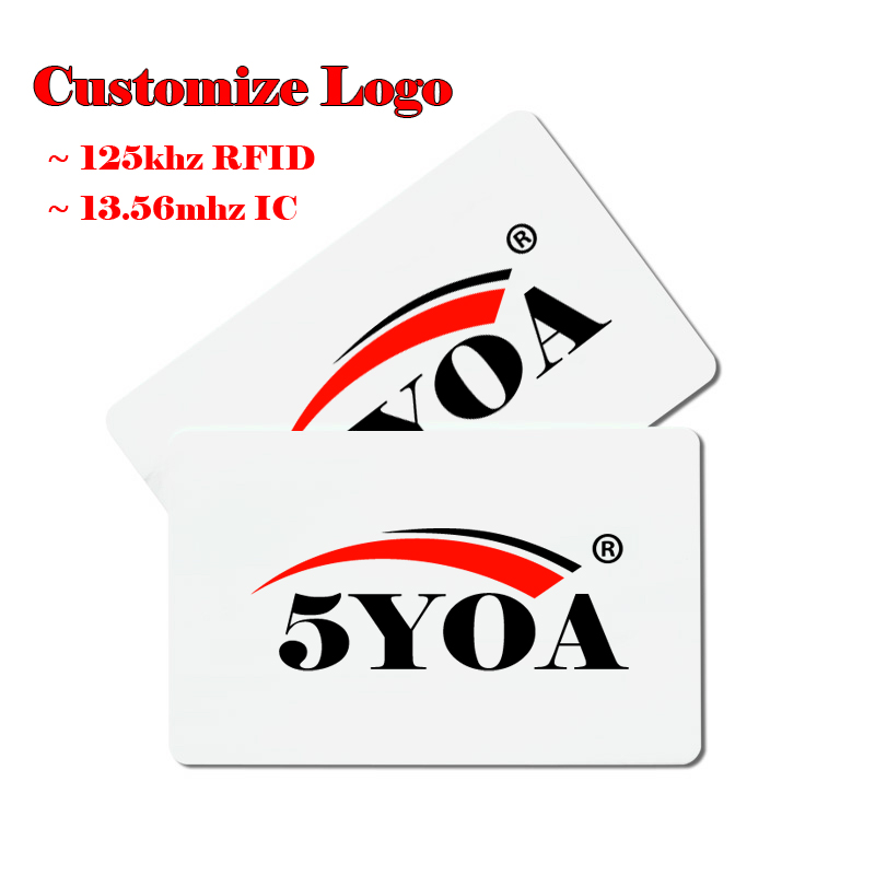 Humor Customize Logo Design Printing Arbitrary Pattern Vip Print Rfid Id 125khz Em4100 Card 13.56mhz Ic Card Mf S50 Proximity Smart Security & Protection