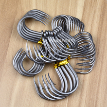 20pc Saltwater Fishing Hook SJ43 JIGGING HOOK 1/0#-13/0# Model Stainless Steel Fishhook Made in Taiwan