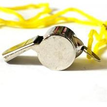 Metal Outdoor Survival SOS Whistle Sports Soccer font b Football b font Rugby Game Match Cheerleading
