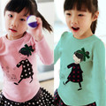Baby Girl Clothes 100% Cotton Cartoon Children Girl T Shirts Brand Kids Clothing T Shirt Girls T-shirts Kids Long Sleeve T-Shirt