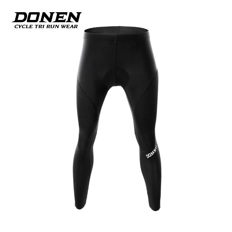 DONE Women Witer font b Bicycle b font Long Pants Coolmax 3D Gel Pad Three tier