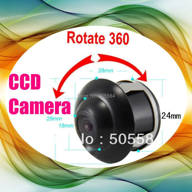 HD rear view Car camera Mini CCD Lens Auto Rear Parking reversing back up Rearview camera for Universal model