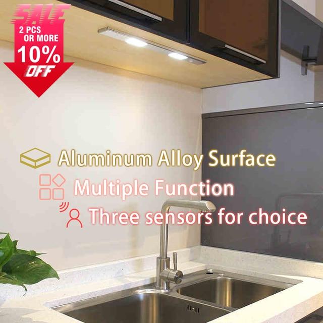 mini 5 led nachtlampje closet lamp draadloze muur licht batterij home verlichting voor onder keukenkastjes