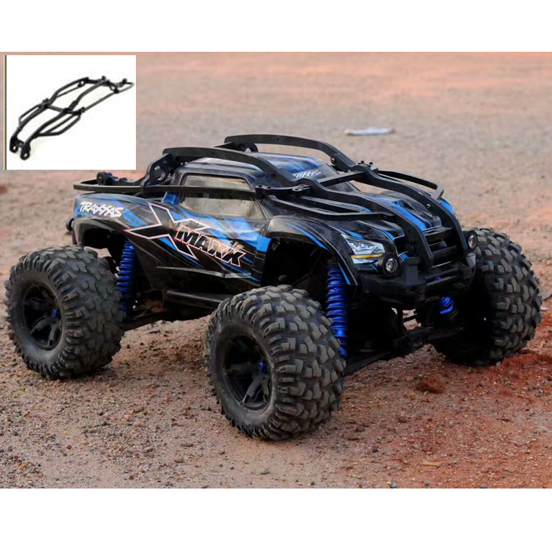 TRAXXAS X-MAXX Nylon Roll Cage Roll Bar Sway Bar Shell Version For Rc Car 1/5 XMAXX (Car Excluded) Body Shell Protection 6s/8s free shipping traxxas trx x maxx xmaxx rc crawler car raise head tires rear stand up wheels anti roll over tyres spare parts