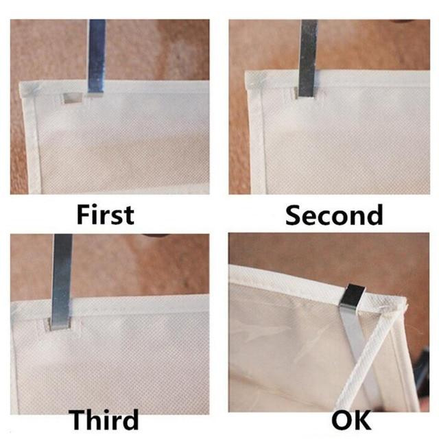Household Useful 26 Pocket Shoe Rack Storage Organizer Holder Folding Door Closet Hanging Space Saver with 3 Color 2