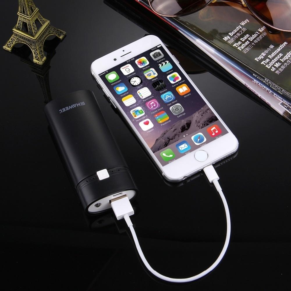 Universal diy 2x18650 de la batería portátil 5600 mah banco de potencia shell ca