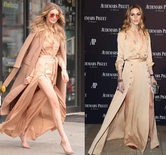 Women Buttoned Shoulder Epaulettes Long Sleeves Buttoned Cuffs Militaire Crepe Maxi Dress