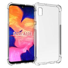 Crystal Shock Proof Soft High Transparent TPU Phone Case For Samsung Galaxy A10E SM-A102U Clear Absorption Anti Scratch