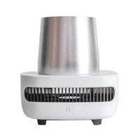 المحمولة ثلاجة صغيرة الصيف الكهربائية شرب برودة غلاية شرب لحظة التبريد سيارة كوب التدفئة برودة الفريزر الولايات المتحدة|قطع غيار الثلاجة|   -