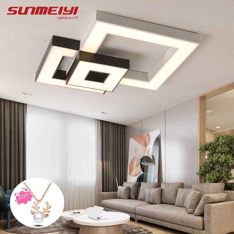 Lamparas de techo moderna Levaram Luzes de Teto Com Controle Remoto Lâmpadas Led Para sala de estar sala de Jantar luminária plafonnier