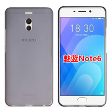 For Meizu M6 Note case Ultra thin transparent soft tpu phone protect back cover shell for