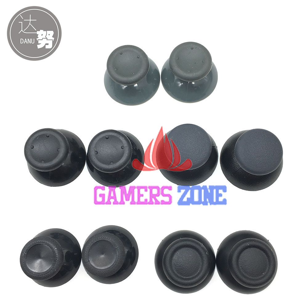 1Pair=2PCS For XBOX360 XBOX ONE 360 Analog Joystick Thumbstick Cap For Sony PS3 PS4 Pro Controller for xbox one xbox 360 3d analog joystick stick module mushroom cap for sony ps4 playstation 4 ps3 controller thumbstick cover