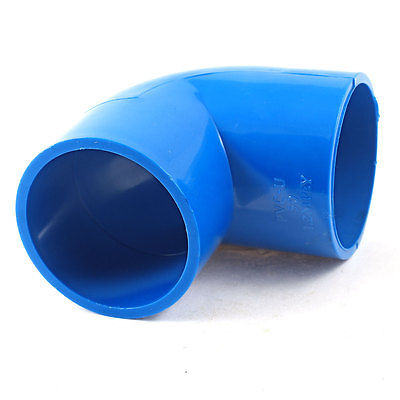 blue 50mm x 50mm 90 degree equal elbow pvc pipe slip fitting coupling in pipe fittings from home. Black Bedroom Furniture Sets. Home Design Ideas