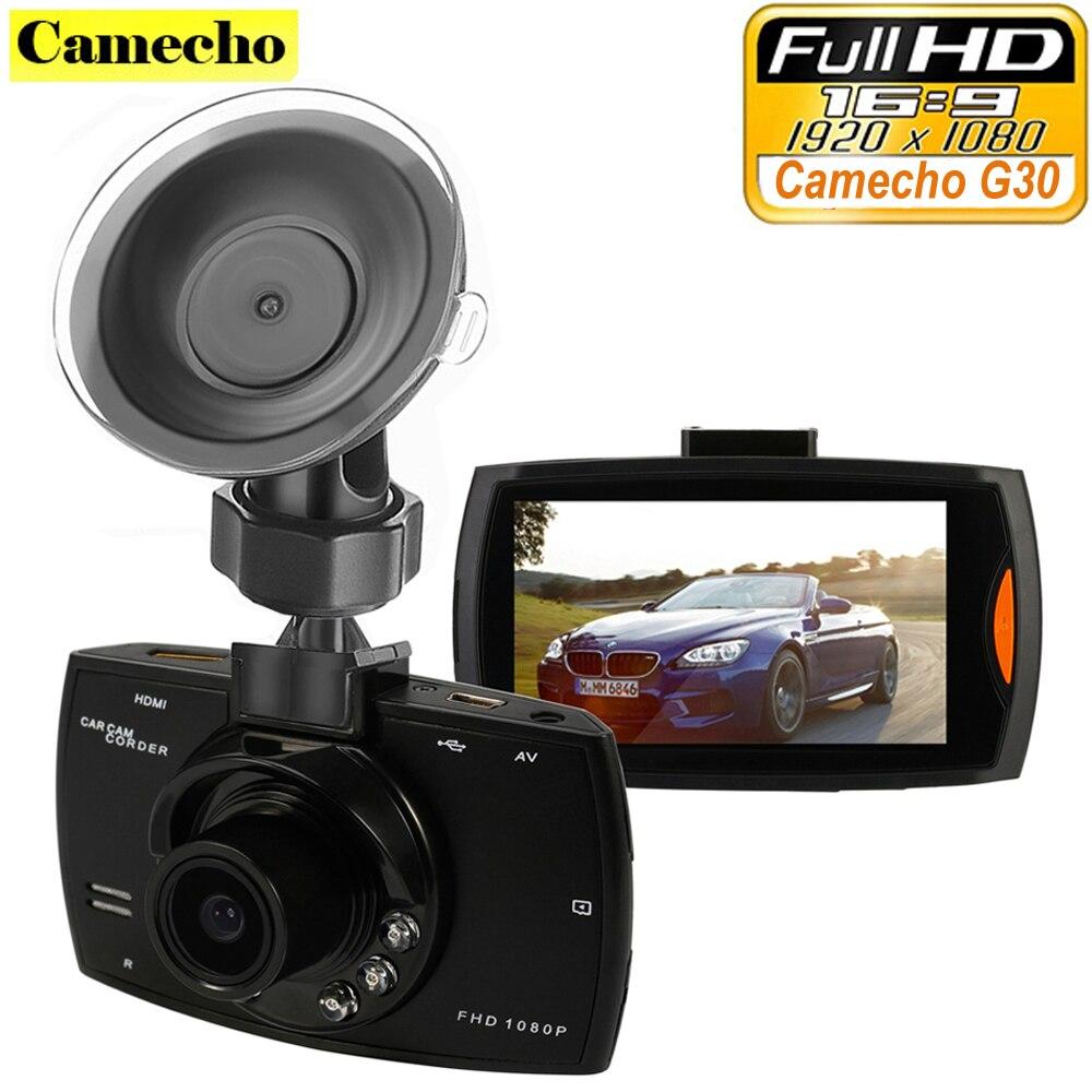 Camecho Car font b Camera b font G30 Full HD 1080P 2 7 Car Dvr Recorder