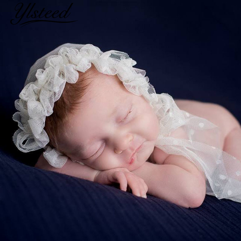 Baby Photography Props Blanket Newborn Photo Shoot Outfits Infant Photos Luxurious Wrap Light Pink