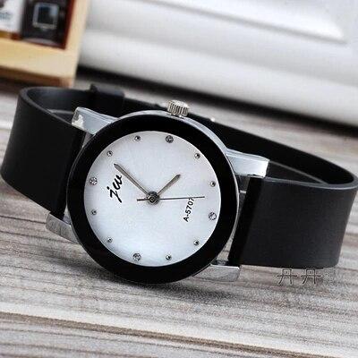 2019 Cheap Fashion Jw Brand Casual Quartz Womenmen Lovers Clock Leather Strap Student Watch Lover Wristwatches Relogio Masculino
