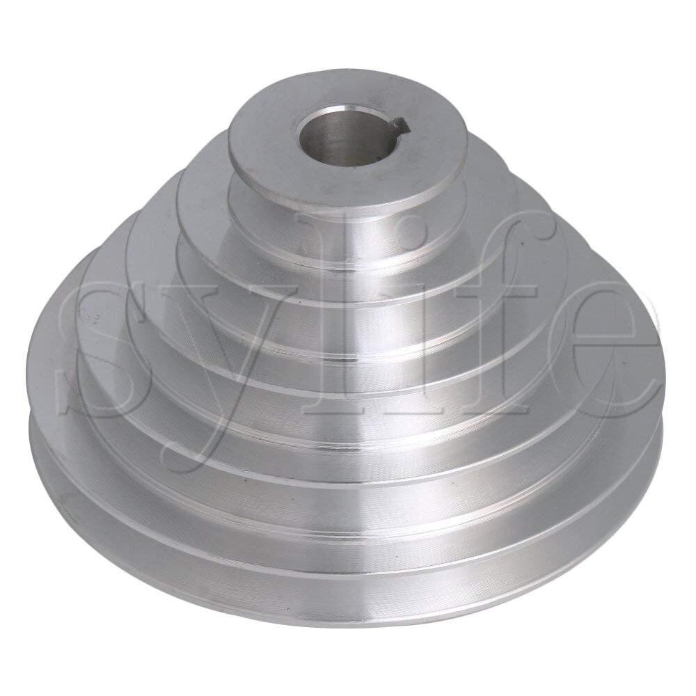 5 passo UM Tipo V-Pagode Cinto Polia de Diâmetro Outter 54-150mm (Diâmetro Do Furo 14 mm, 16mm, 18mm, 19mm, 20mm, 22mm, 24mm, 25mm, 28mm)