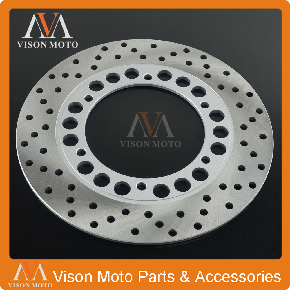245MM Rear Brake Disc Rotor For YAMAHA FZ400 SRX400 XJR400 FZ600 FZR600 SRX600 XJ600 SRX XJR FZR FZSS XJ YZF 400 600 DIVERSION запчасти для мотоциклов yamaha xjr400 xjr1300 fz400