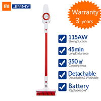 [Free Duty] Xiaomi Jimmy JV51 Vacuum Cleaner Stick Vacuum Handheld Vacuum Car Vacuum Removable Battery 400W